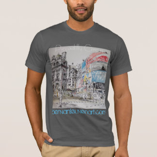 Chemisette Homme Piccadilly Circus T-shirt