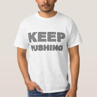 Chemisette Keep Pushing T-shirt