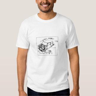 Chemisette m/c conception mini ébauche adulte homm t-shirt
