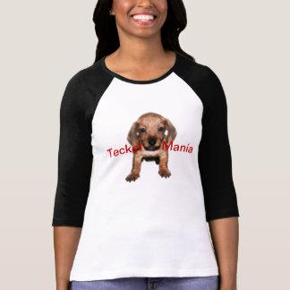 Chemisette Pique Raglán 3/4 Teckel Manie T-shirt