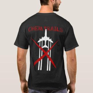 Chemtrails sont T-shirt coloré par obscurité