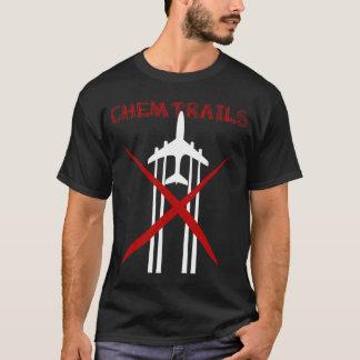 Chemtrails sont T-shirt foncé faux
