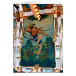Chênes parc, Portland Orégon de ~ de carrousel Cartes De Vœux