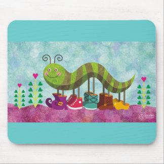 chenille fantaisie tapis de souris