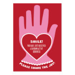 Chèque-cadeau : Loi aléatoire de la gentillesse en Cartes De Visite Professionnelles