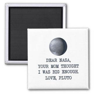 Cher amour Pluton de la NASA Aimant