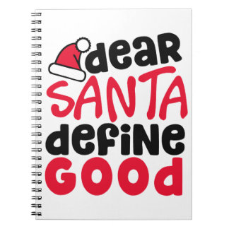 Cher carnet drôle de Noël | de Père Noël