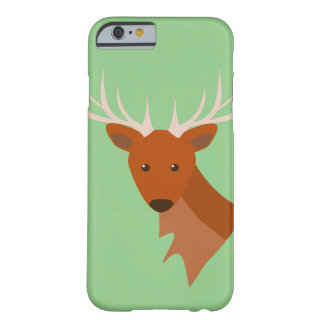 Cher Deer personnalisable Coque Barely There iPhone 6