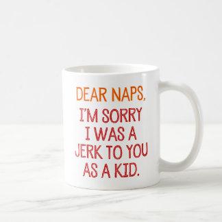 Cher Naps, je suis désolé que j'aie été une Mug