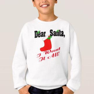 Cher Père Noël Shirt Sweatshirt