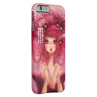 Cherry geisha coque iPhone 6 barely there