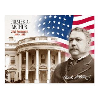 Chester Alan Arthur - 21ème président des Carte Postale