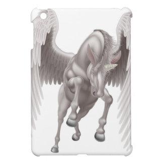 Cheval à cornes à ailes par licorne de Pegasus Étuis iPad Mini