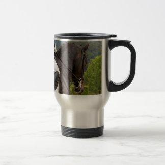 Cheval au Dressage Mug De Voyage
