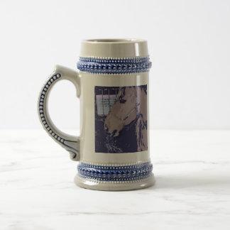 Cheval d art de bruit tasse à café