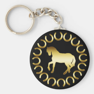 CHEVAL D OR PORTE-CLEFS