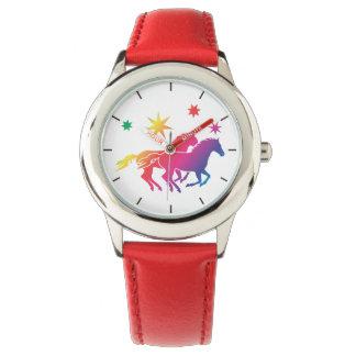 Cheval dans l'amour montres bracelet