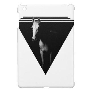 Cheval dans l'obscurité coques pour iPad mini