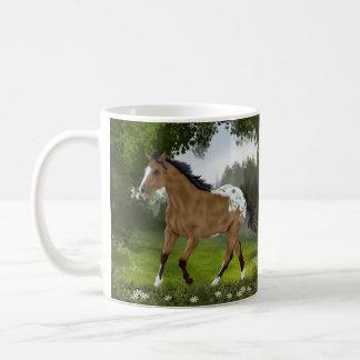 Cheval d'Appaloosa de peau de daim Mug