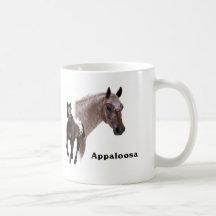 Cheval d'Appaloosa Tasses À Café