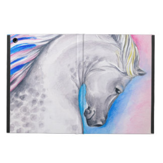 Cheval d'Arabe d'arc-en-ciel Protection iPad Air