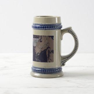 Cheval d'art de bruit tasse à café