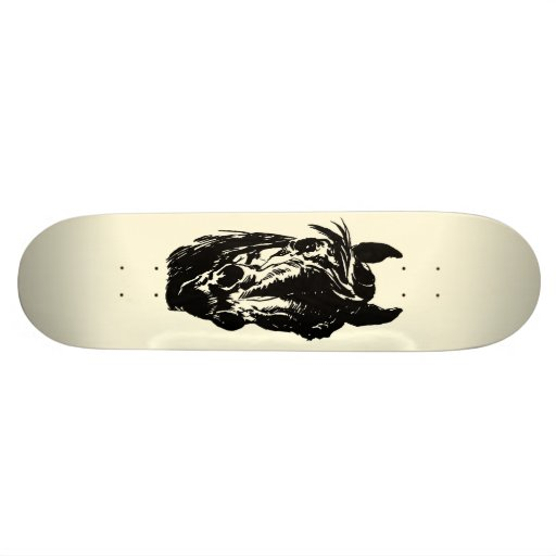 Cheval de club de fan plateaux de skateboards