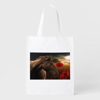 Cheval de guerre sac d'épicerie