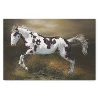 Cheval de peinture de Tovero de cadre Papier Mousseline