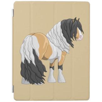 Cheval de trait gitan de Pinto Vanner de belle Protection iPad