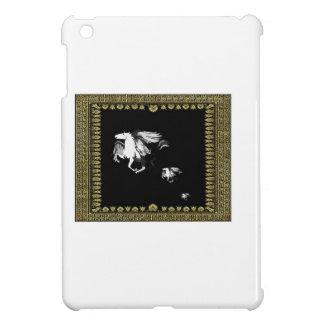 cheval de vol dans le cadre coques pour iPad mini