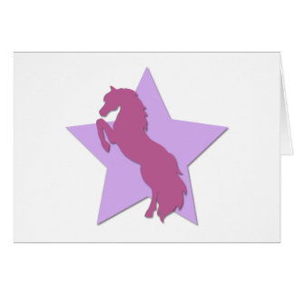 Cheval d'étoile cartes