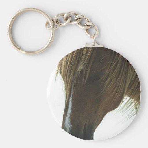 Cheval doux Keychain de mustang Porte-clé