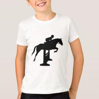 Cheval et cavalier de pullover de chasseur