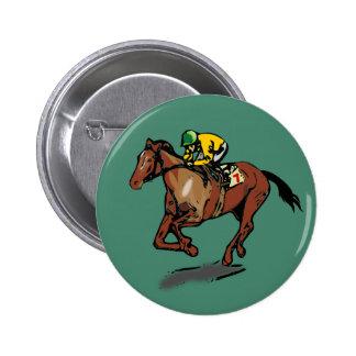 Cheval et jockey badges