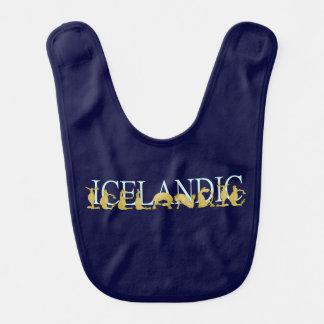 Cheval islandais bavoirs