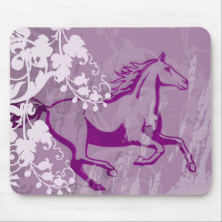 Cheval mystique de jardin (lt Purple) Tapis De Souris