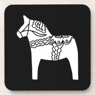 Cheval noir de Dala Sous-bocks