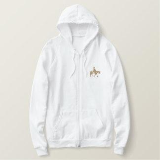 Cheval occidental de plaisir sweatshirt avec capuche