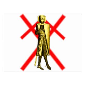Chevalier blindé 1190-1225 cartes postales