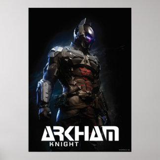 Chevalier de Batman | Arkham Poster
