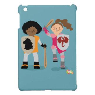 Chevalier de filles étuis iPad mini