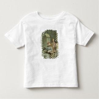 Chevalier et page t-shirt pour les tous petits