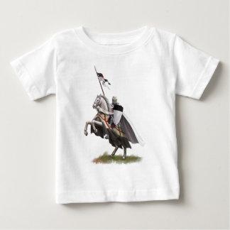 Chevalier monté Templar T-shirt Pour Bébé