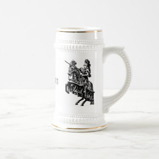 Chevalier vintage Stein Tasse À Café