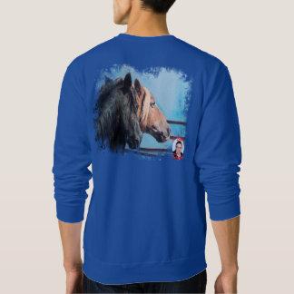 Chevaux/Cabalos/Horses Sweatshirt