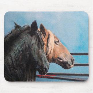 Chevaux/Cabalos/Horses Tapis De Souris
