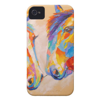 Chevaux d'amour coques Case-Mate iPhone 4