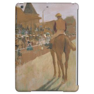 Chevaux de course d'Edgar Degas | devant les