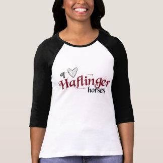 Chevaux de Haflinger T-shirts
